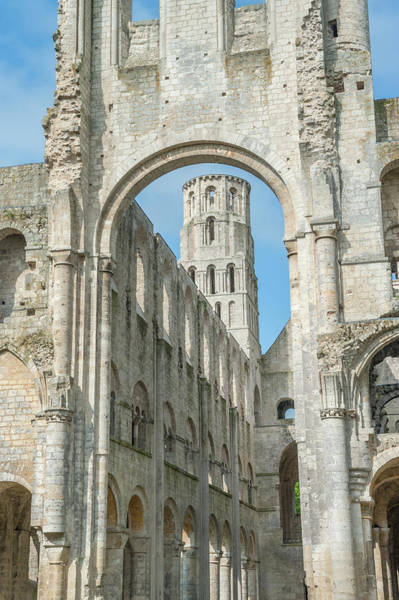 Wall Art - Photograph - Jumieges Abbey, Jumieges, Normandy by Jim Engelbrecht