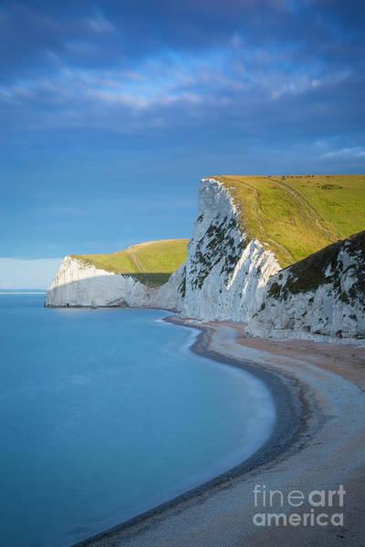 Photograph - Jurassic Coast Cliffs by Brian Jannsen