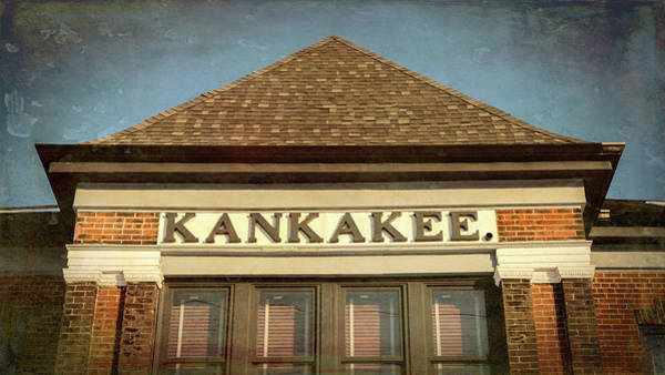 Wall Art - Photograph - Kankakee Depot - #1 by Stephen Stookey