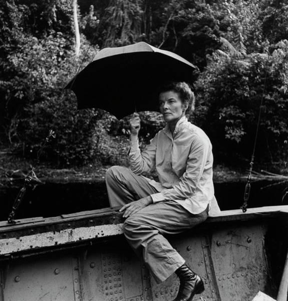 Photograph - Katharine Hepburn by Eliot Elisofon