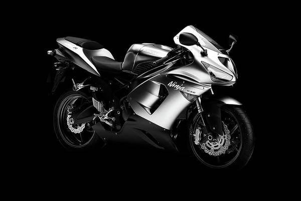 Motorcycle Mixed Media - Kawasaki Ninja Zx6r 636 by Smart Aviation