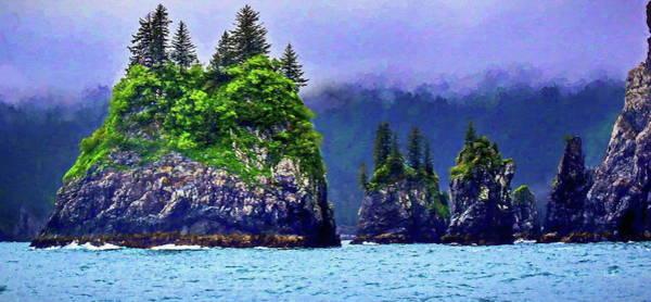 Wall Art - Painting - Kenai Fjords Alaska by Russ Harris