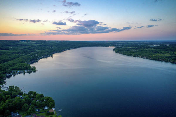 Photograph - Keuka Lake North by Ants Drone Photography