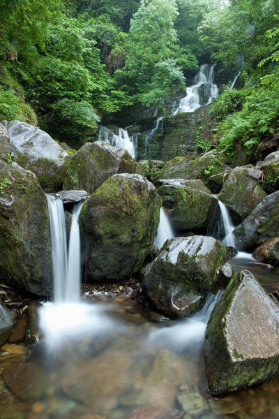 Killarney Photograph - Killarney National Park, Torc Waterfall by Maremagnum