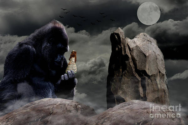 Digital Art - King Kong by Ed Taylor
