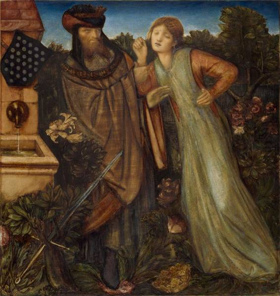 Wall Art - Painting - King Mark And La Belle Iseult by Edward Burne-Jones