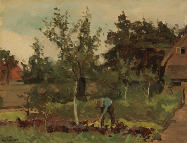 Painting - Kitchen Garden by Willem Witsen