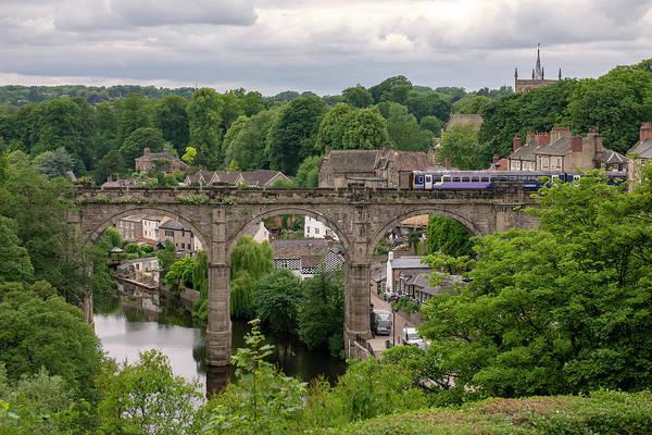 Photograph - Knaresborough Viaduct  by Gouzel -