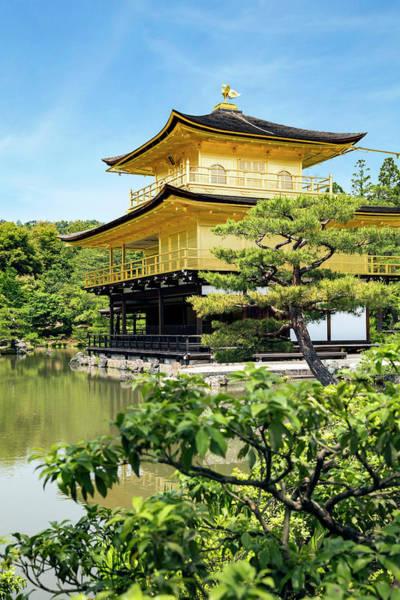 Wall Art - Photograph - Kyoto, Japan Kinkaku-ji, Temple by Miva Stock