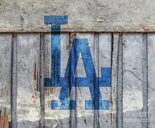 La Dodgers Art Print