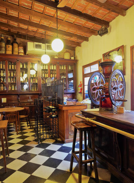 Wall Art - Photograph - La Esquina De Merti Bar Restaurant Interior San Antonio De Areco Buenos Aires Province Argentina by imageBROKER - Karol Kozlowski
