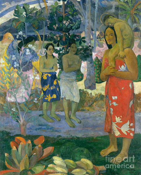 Painting - La Orana Maria by Paul Gauguin
