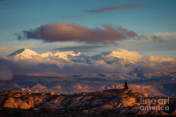 Photograph - La Sal Mountains by Scott Kemper