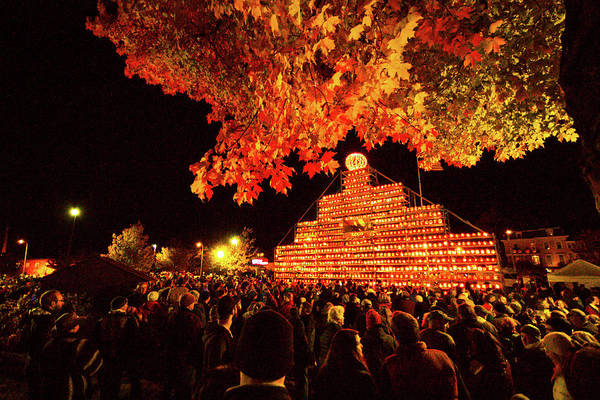 Photograph - Laconia Pumpkin Festival by Robert Clifford
