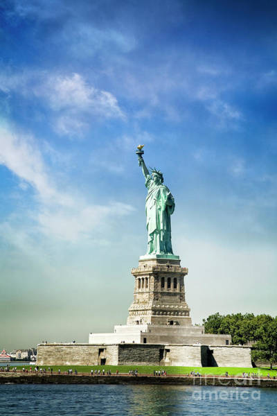 Photograph - Lady Liberty  II by Scott Kemper