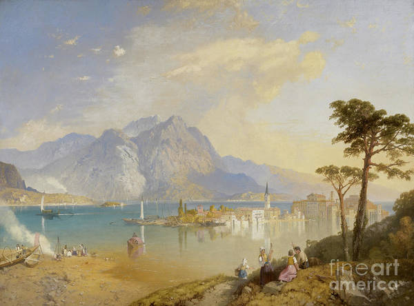 Wall Art - Painting - Lago Maggiore by James Baker Pyne