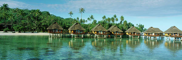 Wall Art - Photograph - Lagoon Resort, Island, Water, Beach by Panoramic Images