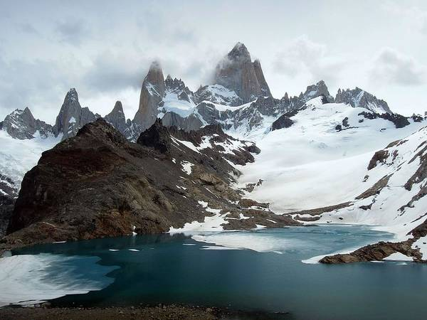 Beauty Of Nature Wall Art - Photograph - Laguna De Los Tres And Fitz Roy by Courtesy Of Serge Kruppa
