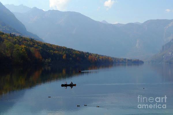 Photograph - Lake Bohinj - Slovenia by Phil Banks