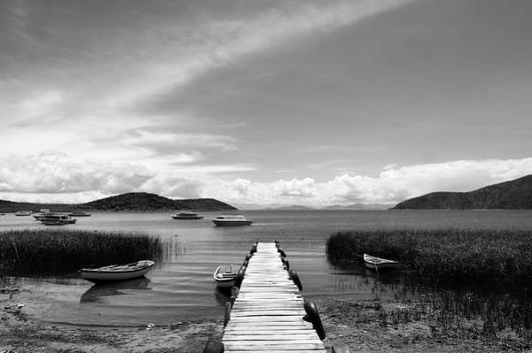 Photograph - Lake Titicaca, Bolivia by Aidan Moran