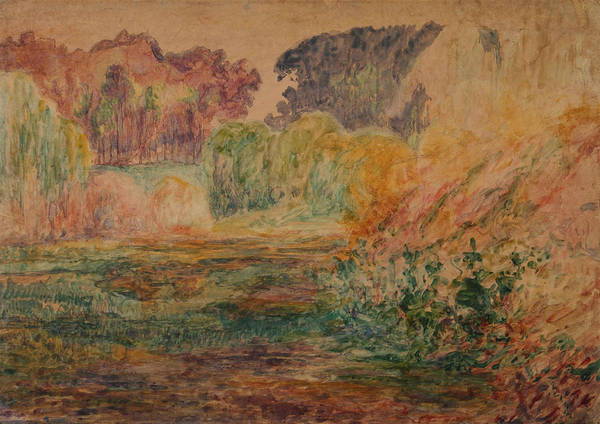 Drawing - Landscape by Martin Malharro