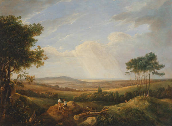 Painting - Landscape With Figures by Thomas Hastings