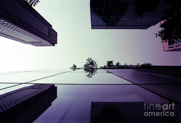 Photograph - Large Buildings With Reflections Of A Big City by Joaquin Corbalan