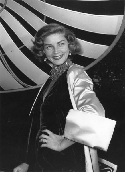 Married Photograph - Lauren Bacall by Baron