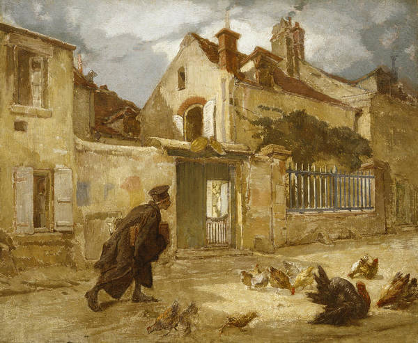 Wall Art - Painting - Lawyer Going To Court by Thomas Couture