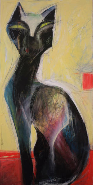 Painting - Le Chat by Tim Nyberg