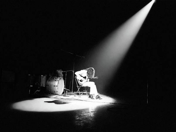 Wall Art - Photograph - Led Zeppelin Performs In 1972 by Michael Ochs Archives