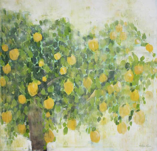 Wall Art - Painting - Lemon Tree by Melissa Lyons