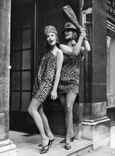 Art Prints Photograph - Leopard Skin Dress by Evening Standard