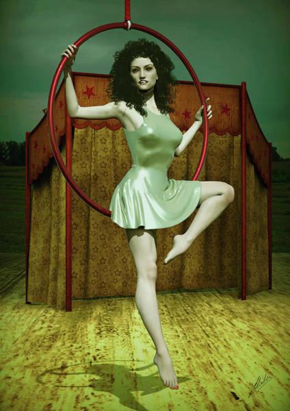 Trapeze Photograph - Leovigilda by Joaquin Abella