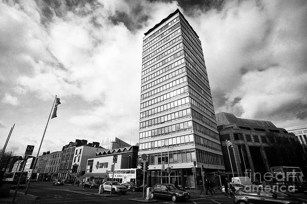 Wall Art - Photograph - Liberty Hall Headquarters Of Siptu The Services Industrial Professional And Technical Union Dublin R by Joe Fox