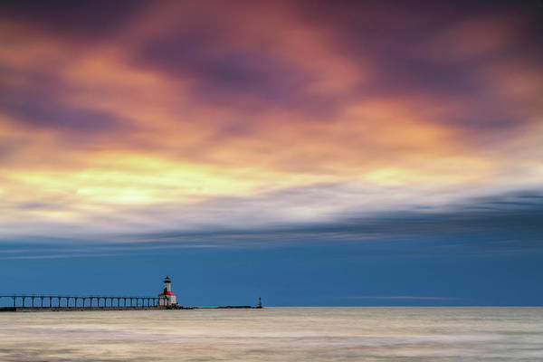 Photograph - Lighthouse Sunset by Framing Places