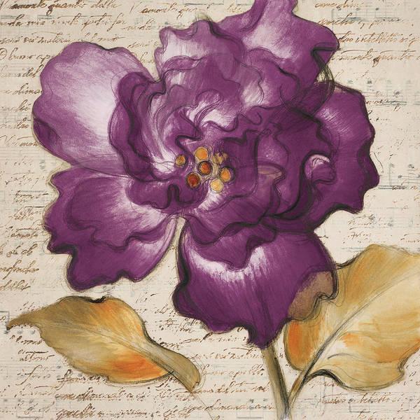 Wall Art - Painting - Lilac Beauty I by Lanie Loreth