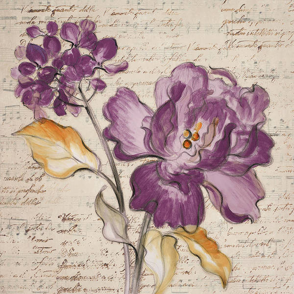 Wall Art - Painting - Lilac Beauty II by Lanie Loreth