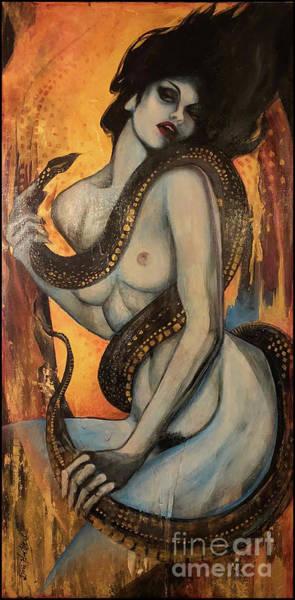 Wall Art - Painting - Lilith by Dori Hartley