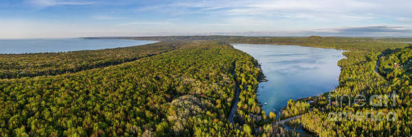 Wall Art - Photograph - Litte Traverse Lake Panorama by Twenty Two North Photography