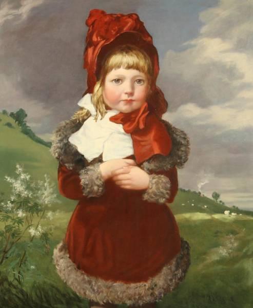 Wall Art - Painting - Little Miss by Robinson Elliott