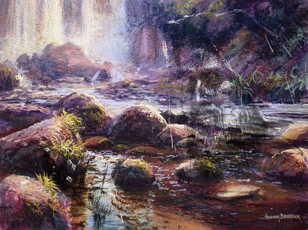 Pastel - Living Water by Graham Braddock