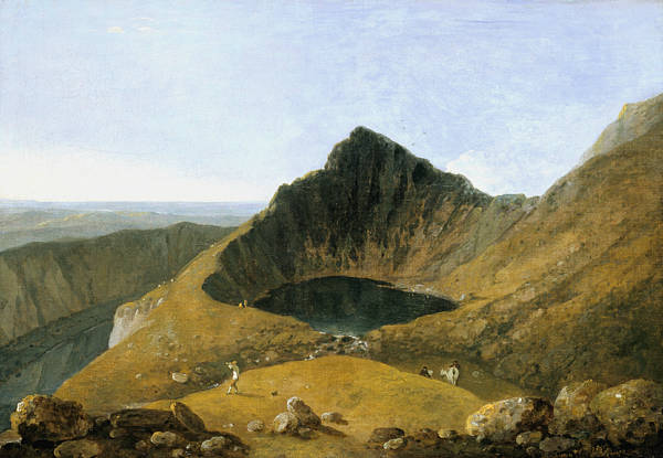 Painting - Llyn-y-cau, Cader Idris by Richard Wilson