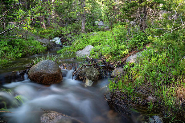 Photograph - Long Exposure Shot Of A Mountain Stream by Kyle Lee