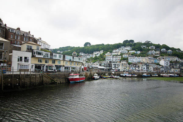 Wall Art - Photograph - Looe Cornwall by Martin Newman
