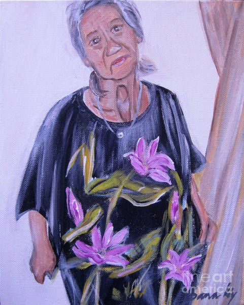 Painting - Look At Me by Oksana Semenchenko