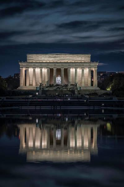 Wall Art - Photograph - Looking At Abe by Robert Fawcett