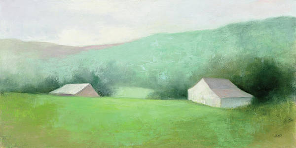 Wall Art - Painting - Looking Down The Valley by Julia Purinton