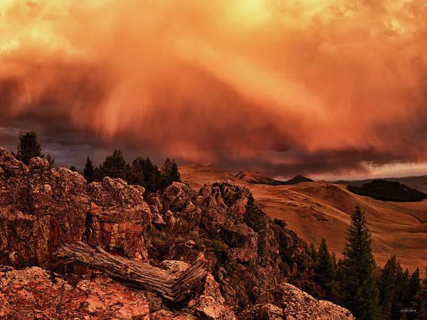 Impressive Photograph - Lost River Sunset by Leland D Howard
