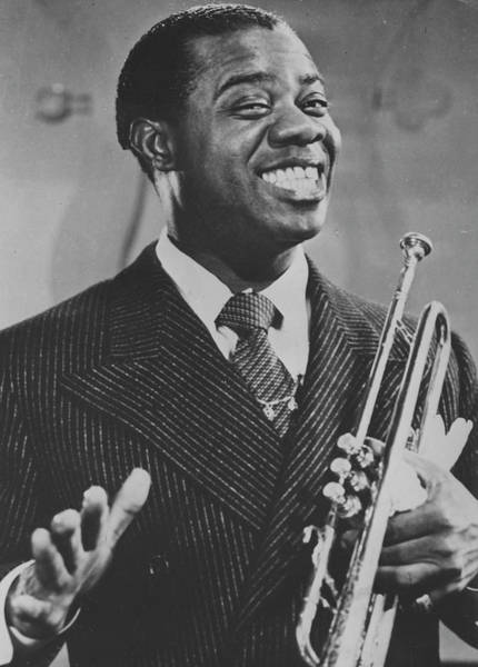 Photograph - Louis Armstrong by Afro Newspaper/gado